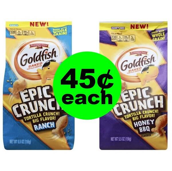 Publix Deal: 🐠 45¢ Goldfish Epic Crunch Snacks (After Ibotta)! (Ends 4/23 or 4/24)