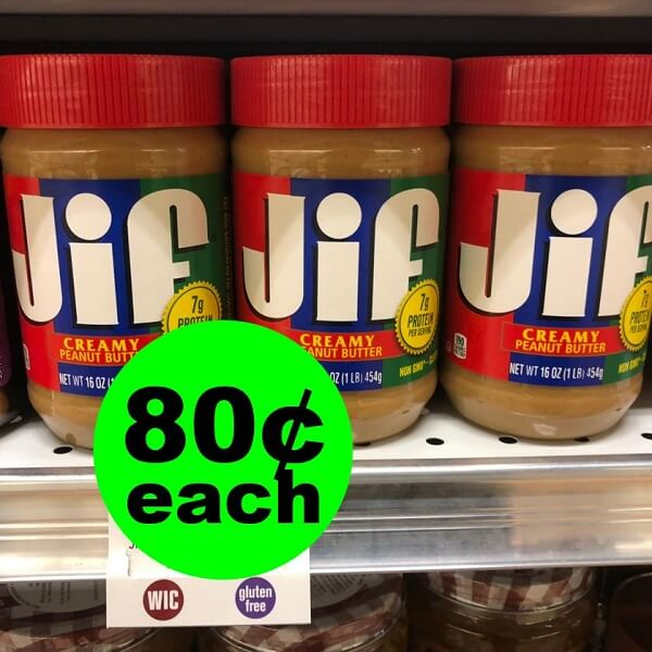 Publix Deal: 🥜 80¢ Jif Peanut Butter! (4/10-4/20 Or 4/11-4/20)