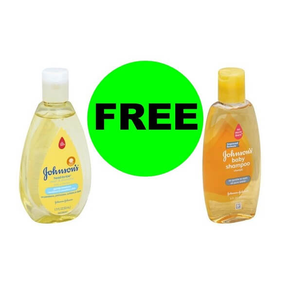 Publix Deal: (2) FREE Johnson's Travel Size Shampoos or Head To Toe Baby Wash! (7/27-8/9)