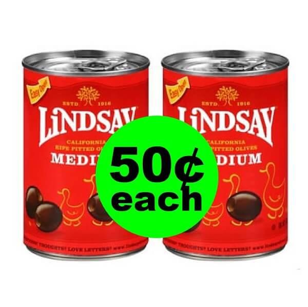 Publix Deal: 🍕 50¢ Lindsay Olives! (Ends 4/23 or 4/24)