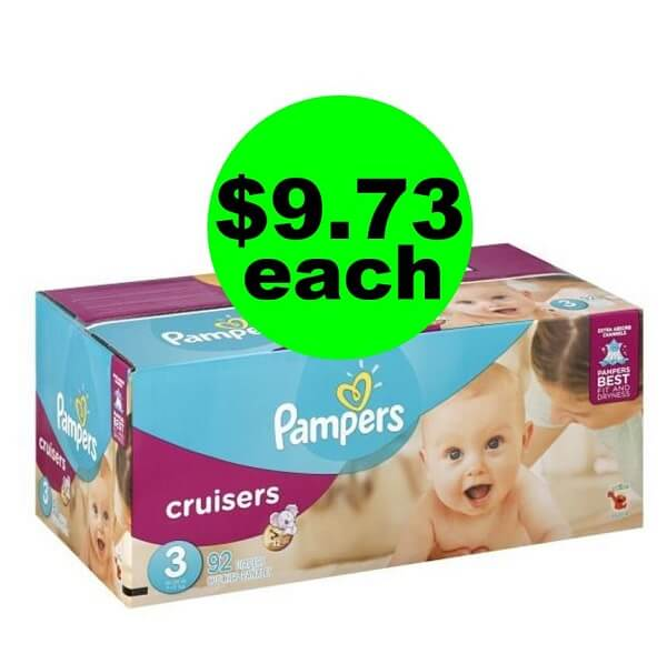 Publix Deal: 👶🏽 For Just $38.92, Score (4) Pampers Cruisers Box Diapers & (6) Wipes (Save Over $67, After Ibotta & Rebates)! (Ends 4/6)