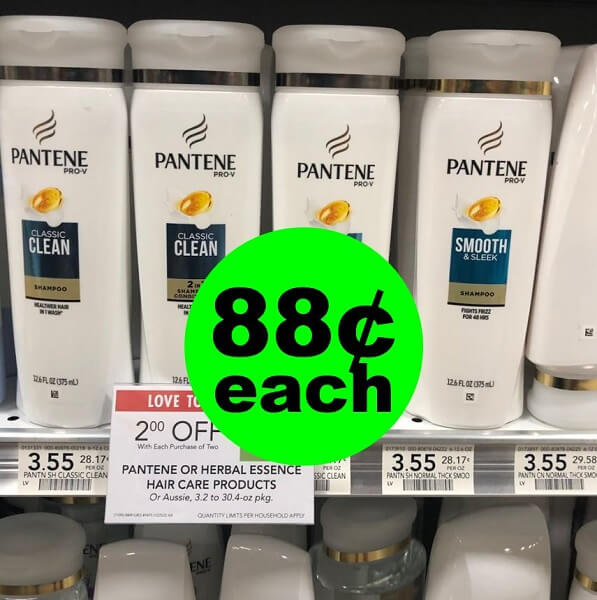 Publix Deal: 👩 Pantene Hair Care As Low As 88¢ Each (Save Up to 75% Off)! (5/1-5/7 Or 5/2-5/8)