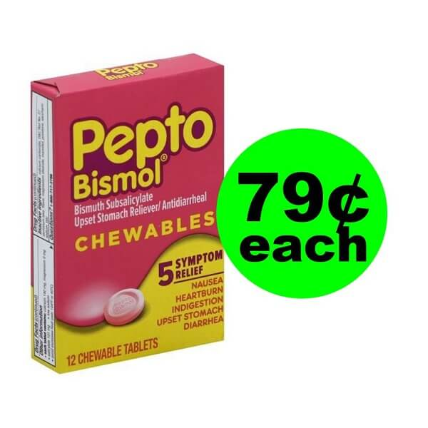 Publix Deal: 😵 79¢ Pepto Bismol Chewable Tablets! (Ends 4/19)