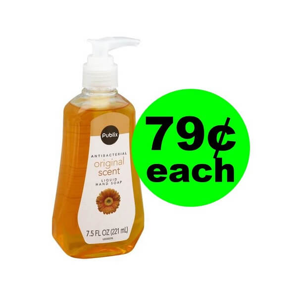 Publix Deal: 👐 79¢ Publix Liquid Antibacterial Hand Soap! (Ends 5/8)