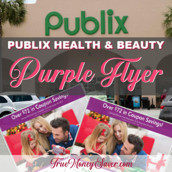 💜 Publix Purple H&B Flyer 💜 With (33) Store Coupons Inside! (Ad Runs 8/24-9/6)