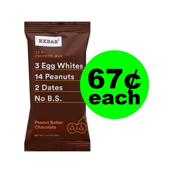 Publix Deal: 😋 67¢ RXBAR Protein Bar (Save 73% Off, After Ibotta)! (4/24-4/30 Or 4/25-5/1)
