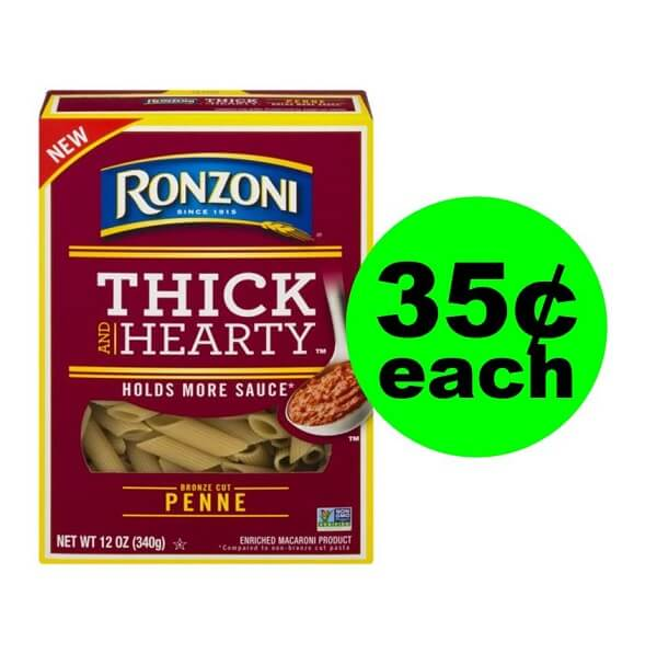 Publix Deal: 🍝 35¢ Ronzoni Thick & Hearty Pasta! (5/22 Or 5/23-5/24)
