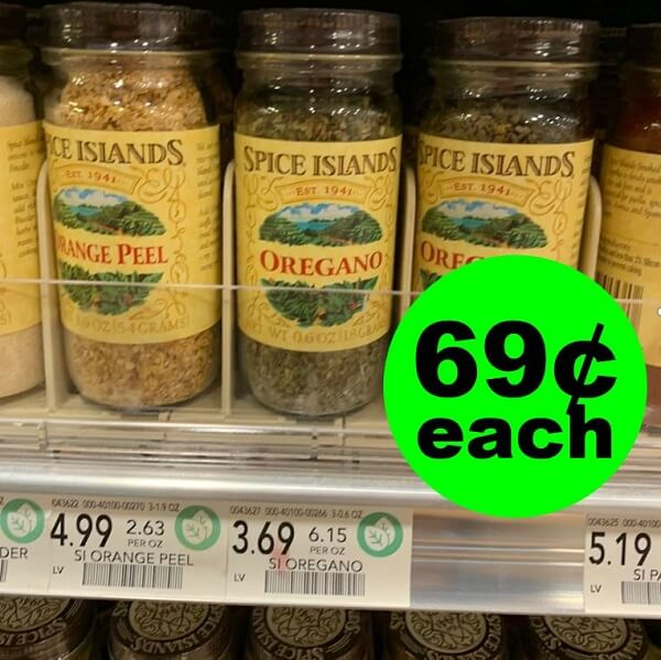 Publix Deal: 😋 Spice Islands Spices As Low As 69¢ Each! (Ends 4/26)