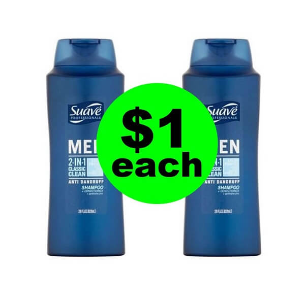 CVS Deal: 👩‍🎨 $1 Suave Hair Care! (5/12-5/18)