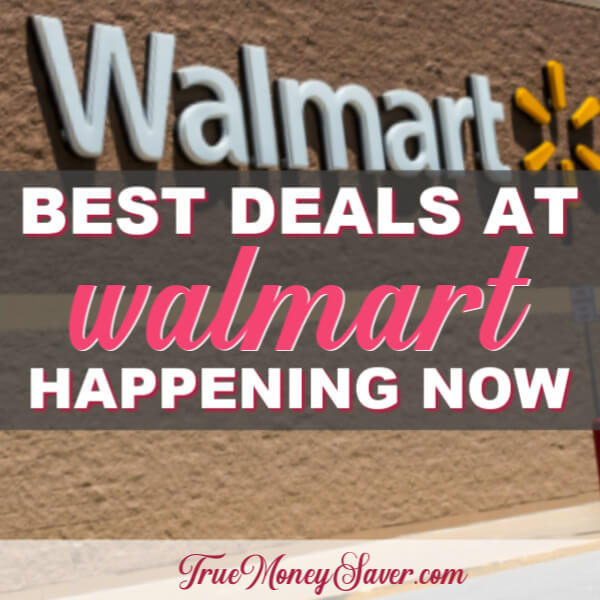 Walmart Deals: See These 12 Freebies And 12 Deals 76¢ Or Less At Walmart Right Now!