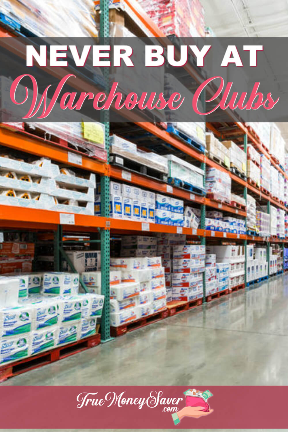 Don\'t fall for the bulk deals lie that it\'s cheaper to buy in bulk. It\'s not! Learn these items to never buy at the warehouse and big box stores!