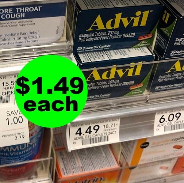 Publix Deal: 🤕 $1.49 Advil Pain Relief! (5/18-5/31)