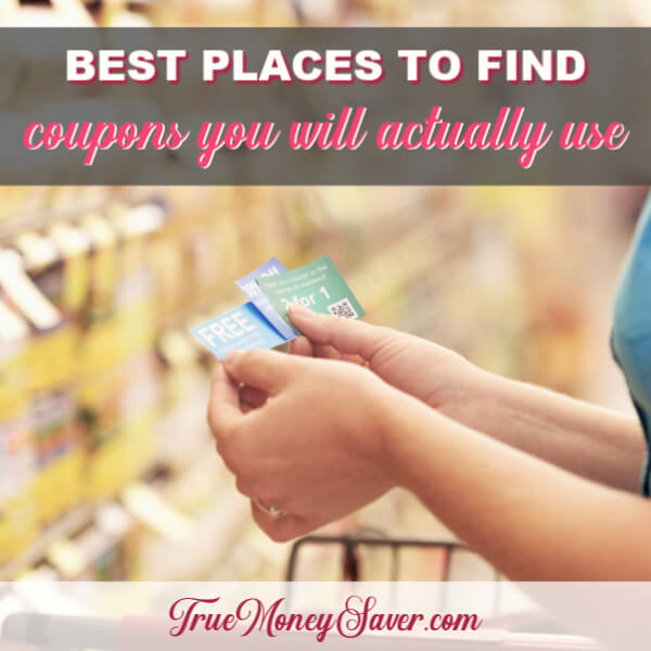 The Best Places To Find Coupons You'll Actually Use