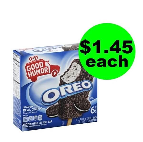 Publix Deal: 😋 $1.45 Good Humor Dessert Bars (After Ibotta + Fetch Bonus)! (Ends 5/7 Or 5/8)