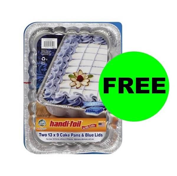 """Publix Deal: 🎂 """"Clip"""" For FREE Handi-Foil Cake Pans! (Ends 6/12)"""