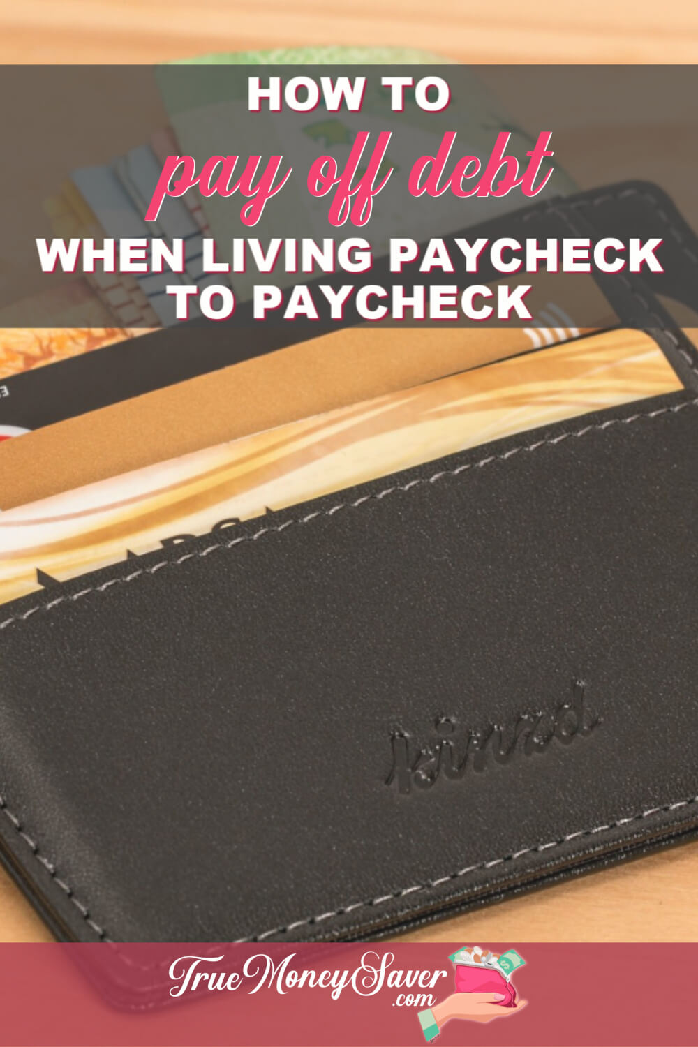 Trying to pay off debt but living paycheck to paycheck? You might be surprised that you actually can pay off debt with just a little motivation and these tips! #truecouponing #debtfree #debtfreecommunity #debtfreejourney #paycheck