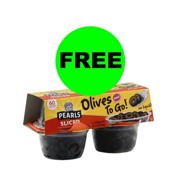 Publix Deal: 😋 (5) FREE + $1.25 Money Maker On Pearls Olives To Go (After Ibotta)! (5/12-5/24)