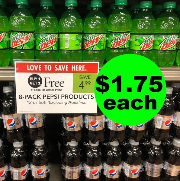 Publix Deal: 🥤 $1.75 Pepsi Soda 8 Packs (Reg. $4.99, After Ibotta)! (Ends 6/4 Or 6/5)