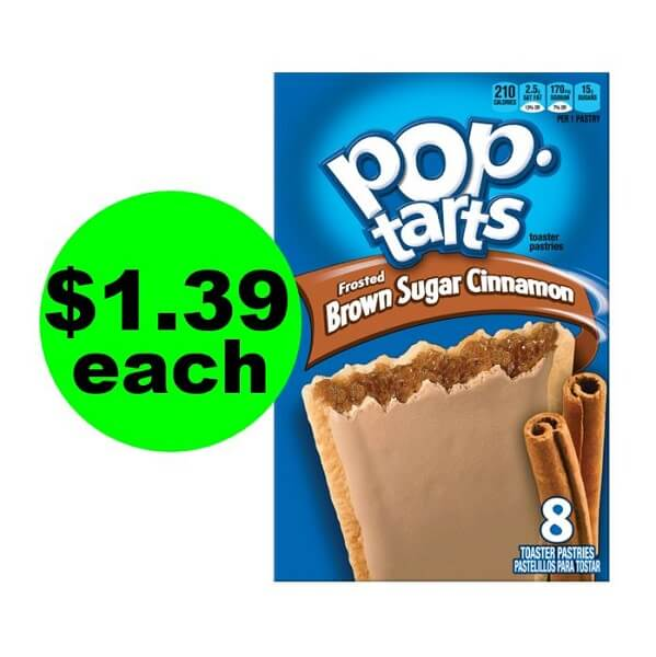 CVS Deal: 😋 $1.39 Pop-Tarts Toaster Pastries! (5/26-6/1)