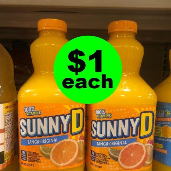 Publix Deal: 🍊 $1 Sunny-D Citrus Punch Bottles! (Ends 6/4 Or 6/5)