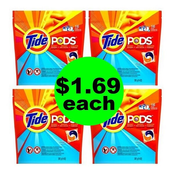CVS Deal: $1.69 Tide Pods! (6/9-6/15)