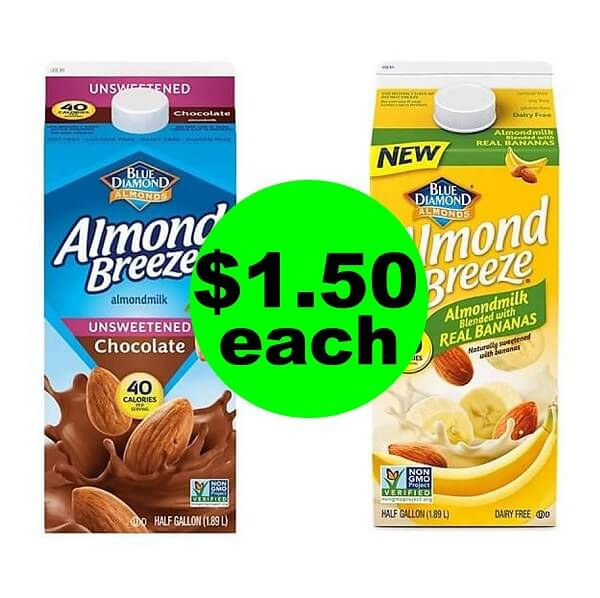 Publix Deal: $1.50 Blue Diamond Almond Milk! (6/26 Or 6/27-6/30)