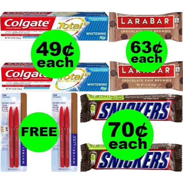 CVS Deals: 2 FREEbies Plus 3 Deals $.70 Each Or Less! (Ends 6/22)