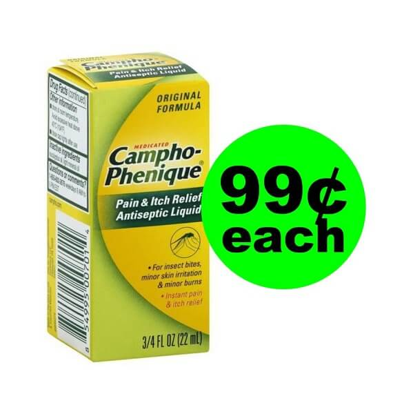 Publix Deal: $.99 Campho-Phenique Pain & Itch Relief!