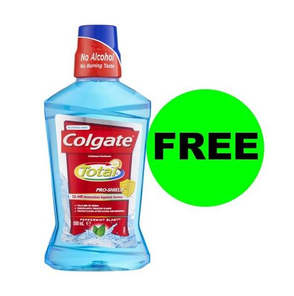 Sneak Peek CVS Deal: FREE Colgate Mouthwash! (7/21-7/27)