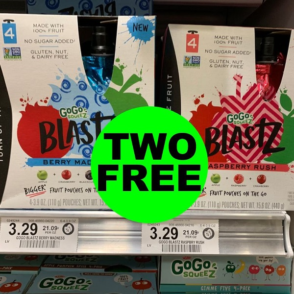 Sneak Peek Publix Deal: (2) FREE GoGo SqueeZ BlatZ (After Ibotta)! (1/22-1/28 Or 1/23-1/29)