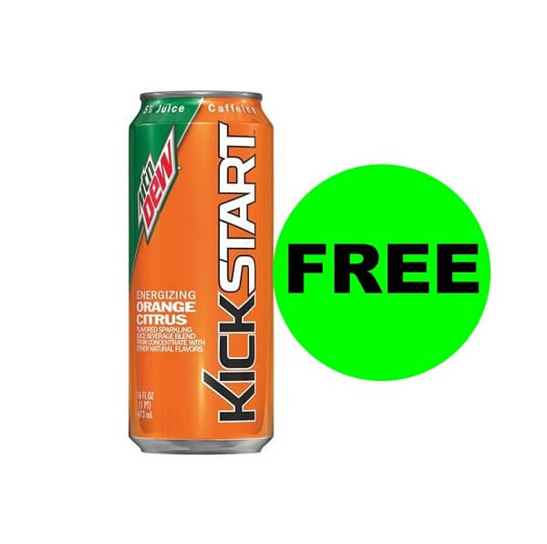 "Publix Deal: ""Clip"" For A FREE Mountain Dew Kickstart Drink! (Ends 7/24)"