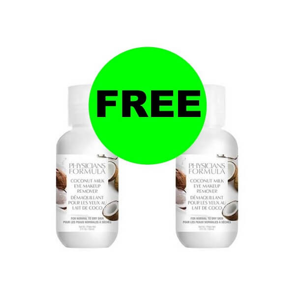 CVS Deal: Print Now For (2) FREE + $3.02 Money Maker On Physicians Formula Eye Makeup Remover! (6/30-7/6)