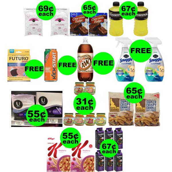 Publix Deals: Don't Miss 5 FREEbies Plus 8 Deals $.69 Each Or Less! (Ends 7/16 Or 7/17)