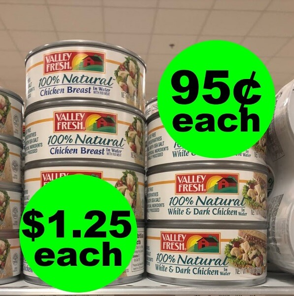 Publix Deal: 🌀 Valley Fresh Canned Chicken As Low As 95¢ Each! (Ends 6/4 Or 6/5)