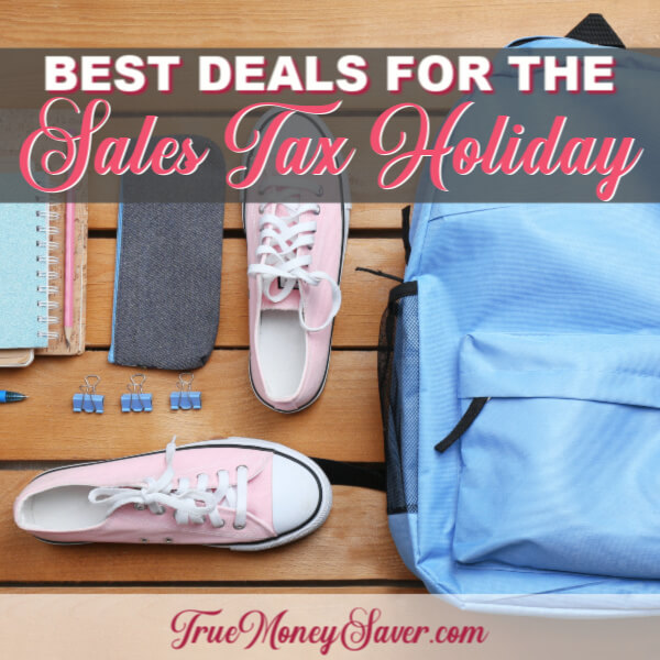 The Best Deals To Buy During The Back-To-School Sales Tax Holiday