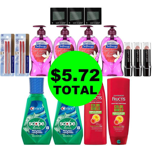 CVS Deal Idea: For $5.72 Total, Get (8) Personal Care And (8) Cosmetic Products! (7/14-7/20)