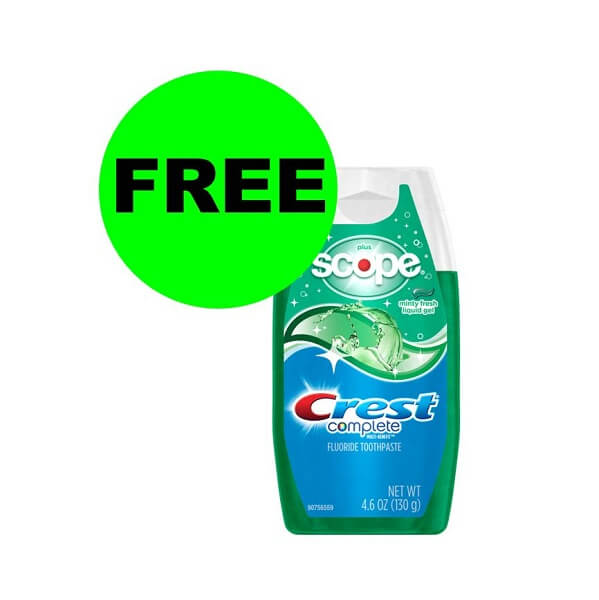 Sneak Peek CVS Deal: FREE Crest Toothpaste! (9/22-9/28)