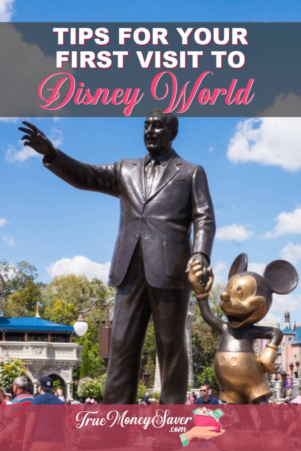 There is so much to do at Disney World that it's easy to get caught up in the magic. Use these tips to get the most out of your Disney vacation! #disneyvacation #truemoneysaver #savemoney #vacation #disney #vacation #familyvacation #vacations #florida #floridavacation
