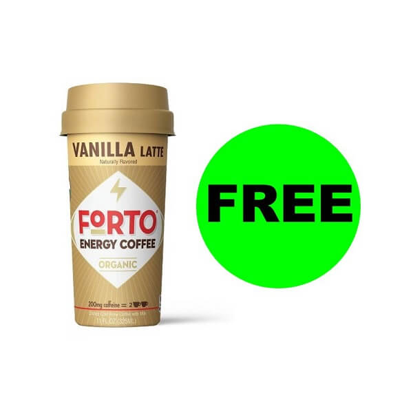 Publix Deal: FREE Forto Energy Coffee (After Ibotta)!