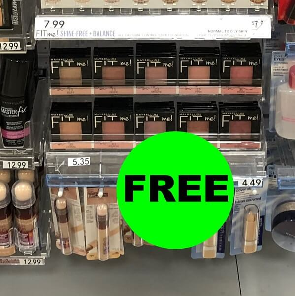 Publix Deal: FREE Maybelline Blush! (7/13-7/26)