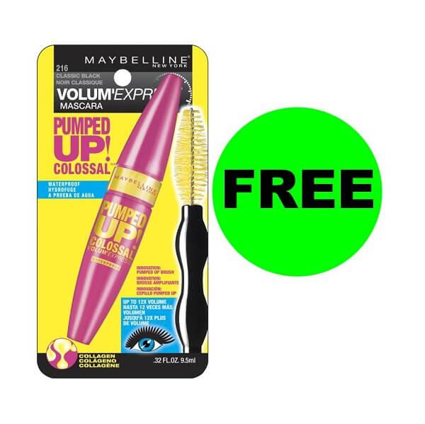Sneak Peek CVS Deal: FREE Maybelline Mascara! (11/24-11/27)
