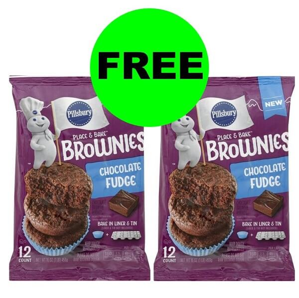 "Publix Deal: ""Clip"" For FREE-FREE Pillsbury Place & Bake Brownies! (12/11-12/17 Or 12/12-12/18)"