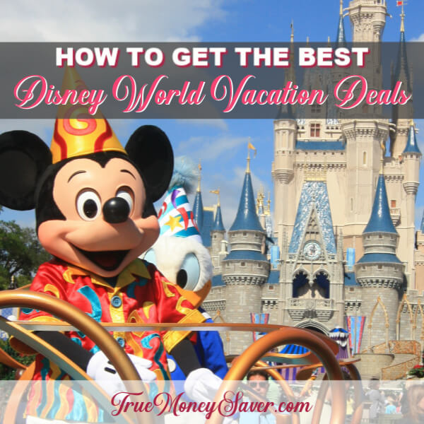 How To Get The Best Disney World Vacation Deals (In Minutes!)