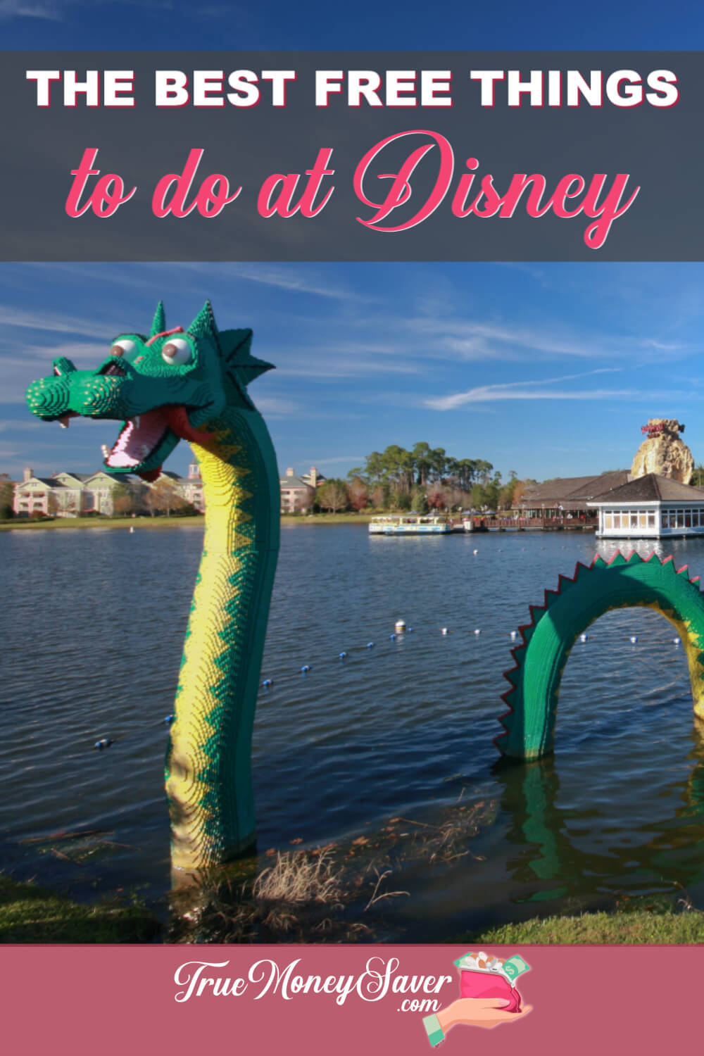 There\'s so much to do near the Disney Parks that you don\'t need to spend extra money to have fun! Heck, you don\'t even have to go TO the parks! Use this guide to plan your FREE Disney Fun! #truemoneysaver #savingmoney #disneyworld #disneyfun #disney
