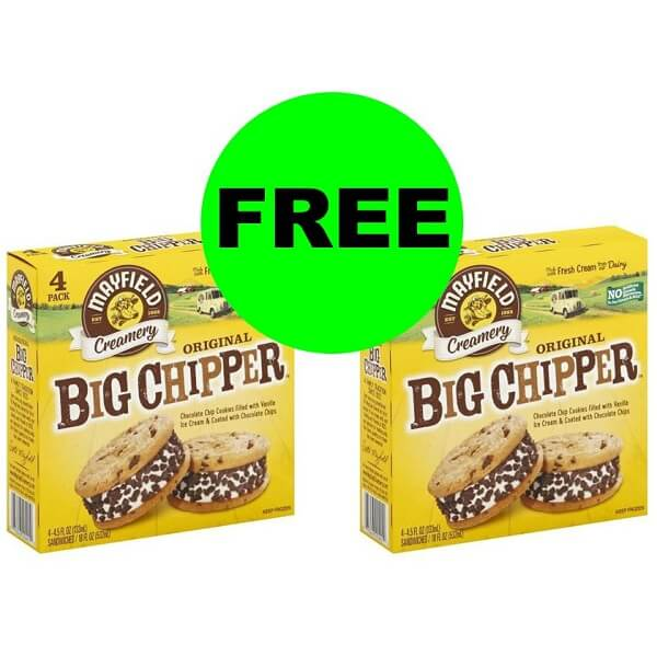 Publix Deal: (2) FREE Mayfield Big Chipper Ice Cream Cookies (After Ibotta)! (8/14-8/20 Or 8/15-8/21)