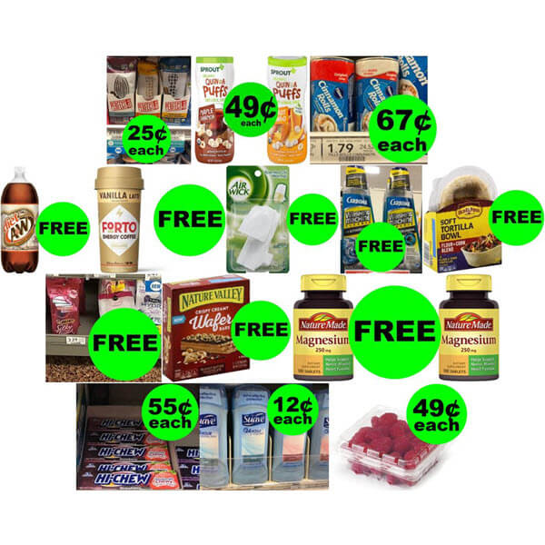 Publix Deals: 9 FREEbies Plus 6 Deals $.67 Each Or Less! (8/21-8/27 Or 8/22-8/28)
