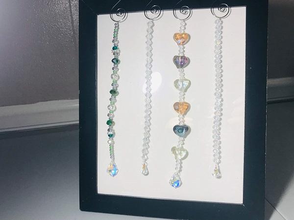 beautiful crystal suncatchers
