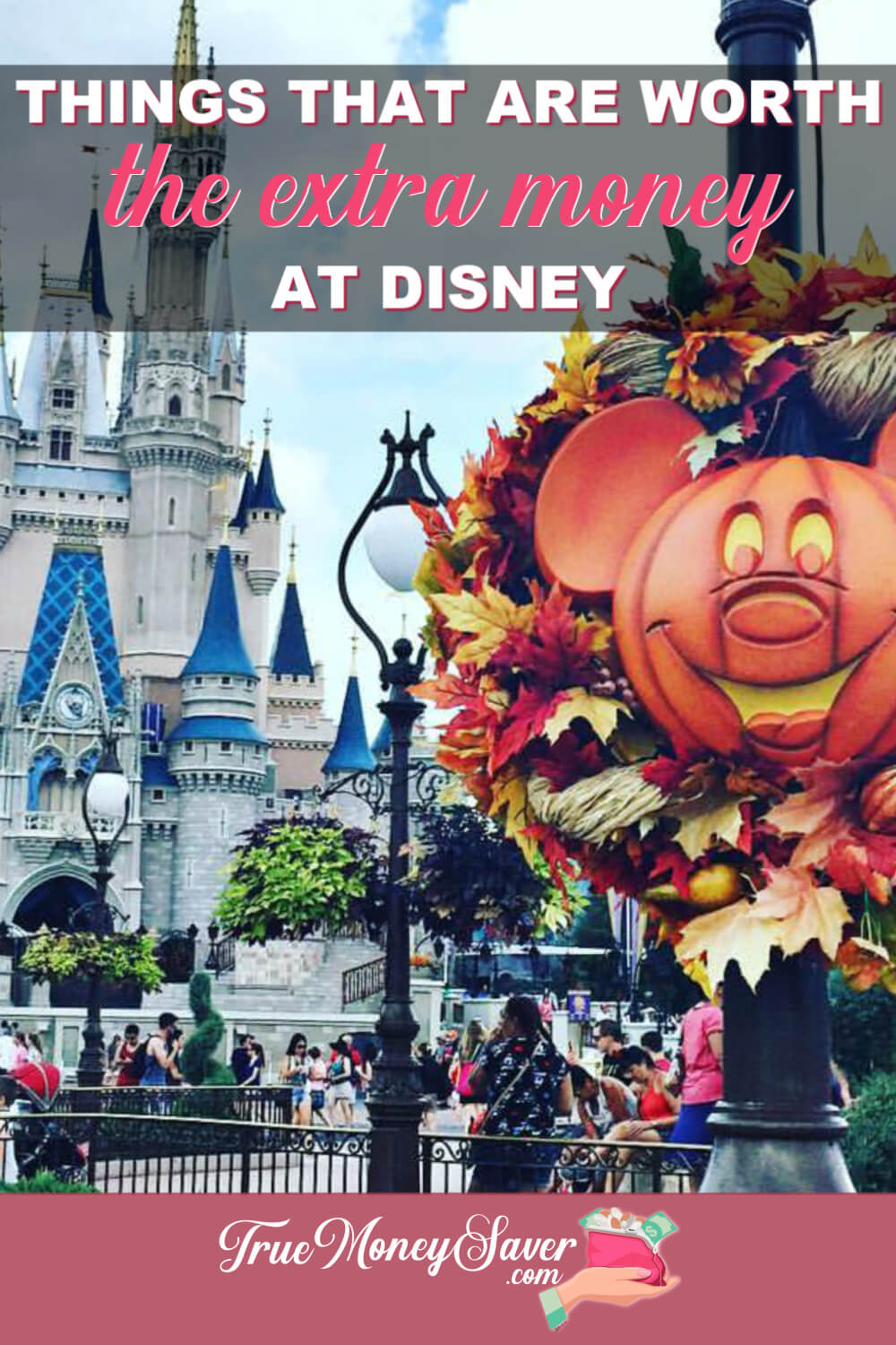 Disney can be expensive and I\'m always finding ways to save money there. But some things are worth the splurge to enjoy the Disney Magic! #truemoneysaver #disneyworld #disney #vacation #familyvacation