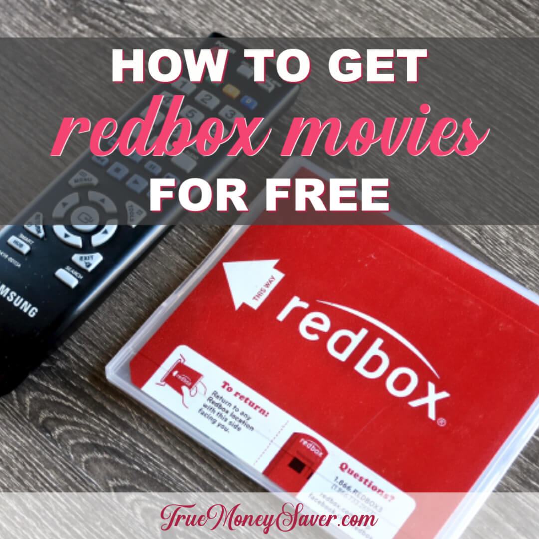 How To Get RedBox Movies For FREE