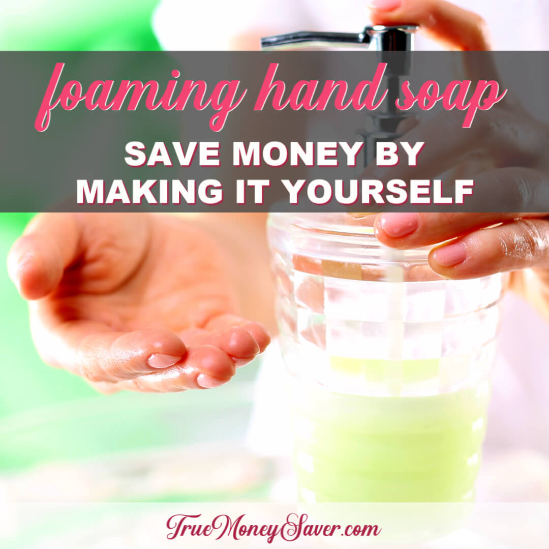 How To Make The Most Affordable Foaming Natural Soap For Hands